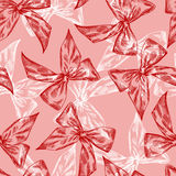 Vintage Christmas and Holidays seamless hand drawn. Pattern Royalty Free Stock Photos
