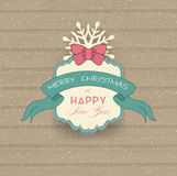 Vintage Christmas And New Year Background Royalty Free Stock Photo