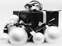 Vintage Christmas Present Stock Images