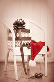 Vintage Christmas Presents Stock Images