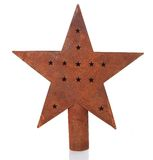 Vintage Christmas star Stock Photography