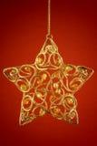 Vintage christmas tree stock image