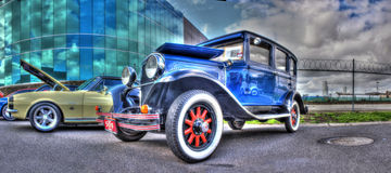 1929 vintage Chrysler Royalty Free Stock Photography