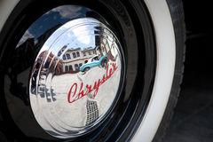 Vintage Chrysler Kraków Museum Royalty Free Stock Photography