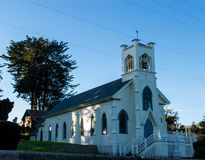 A vintage church in Tamales California Stock Photography