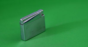 Vintage cigarette lighter Royalty Free Stock Photo
