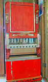 Vintage Cigarette Vending Machine Royalty Free Stock Photo