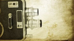 Vintage cinematography Royalty Free Stock Images