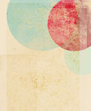 Vintage Circles Royalty Free Stock Photography