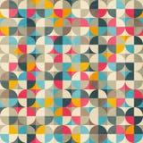 Vintage circles seamless pattern Stock Image