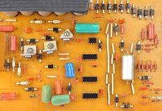 Free Vintage Circuit Board Royalty Free Stock Image - 51130966