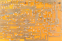 Vintage circuit board Stock Image