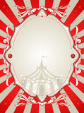 Vintage circus background Stock Photo