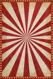 Vintage Circus Poster Background with sunburst and stars