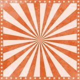 Vintage Circus Poster Background with sunburst and stars vector illustration