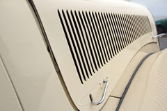 Vintage citroen bonnet grille Royalty Free Stock Photos