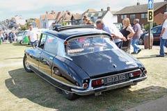 Vintage citroen ds car Royalty Free Stock Image