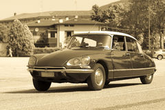 Vintage citroen DS Royalty Free Stock Images