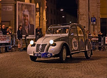 Vintage Citroen2CV Stock Photography