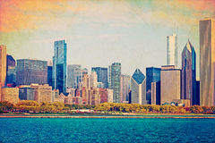 Vintage City Photography (Design) Royalty Free Stock Photography