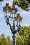 Vintage city streetlamp Stock Photos