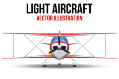 Vintage Civil Light Airplane Stock Images