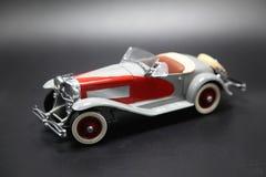 Vintage clásico Toy Sports Car del ` 1950 s Fotografía de archivo libre de regalías