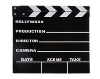 Vintage Clapper Board For Movies Royalty Free Stock Images