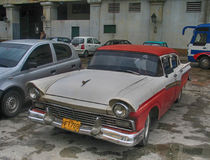 Vintage clasic car Stock Images