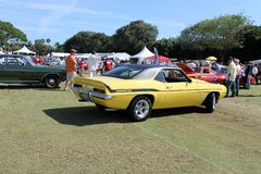 Classic American muscle car Royalty Free Stock Photos