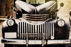 Vintage and classic american 50's car. Hot rod style. Stock Photography