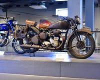 Vintage classic BSA Norton Motorcycle Royalty Free Stock Photo