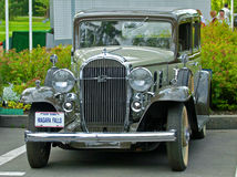 Vintage classic car Buick on exhibition stock images