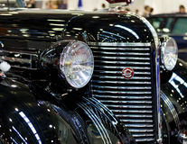 Vintage classic car front view Royalty Free Stock Images