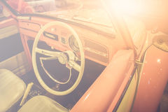Vintage classic car Royalty Free Stock Image