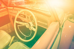 Vintage classic car Stock Image