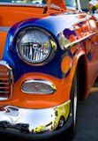 Vintage classic car hot rod Royalty Free Stock Photos