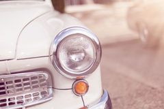 Vintage classic car with vintage effect Royalty Free Stock Image