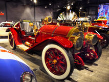 Vintage Classic Cars. Beautiful vintage cars - Locomobile Speedster. Classic Car Gallery in Nelson, New zealand Stock Images