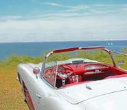 Vintage classic chevrolet corvette Royalty Free Stock Photo