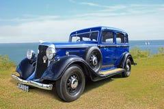 Vintage classic chrysler car Royalty Free Stock Photos