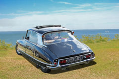Vintage classic citroen ds pallas royalty free stock images