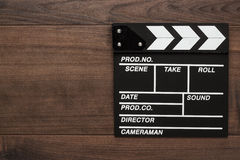 Vintage classic clapperboard Royalty Free Stock Photos