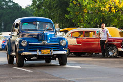 Vintage classic Ford in Havana Stock Photo
