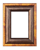 Vintage classic frame for photos. Isolated Stock Photos
