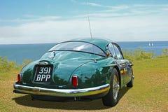 Vintage classic jensen 541 motorcar Stock Image