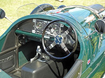 Vintage classic morgan three wheeler motorcar Stock Photography