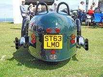 Vintage classic morgan three wheeler motorcar Royalty Free Stock Photos