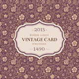 Vintage classic ornamental seamless vector pattern Royalty Free Stock Photo