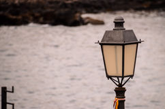 Vintage Classic Street Lamp Stock Photography